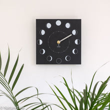 Load image into Gallery viewer, Recycled Moon Phase Clock - NatureTree