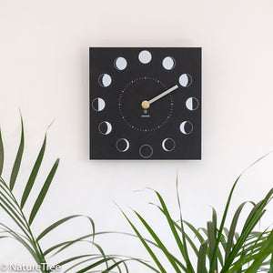 Recycled Moon Phase Clock - NatureTree