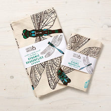 Load image into Gallery viewer, Dynamic Dragonfly Tea Towel - NatureTree