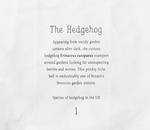 Hedgehog Tea Towel - NatureTree