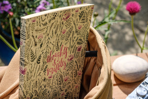 'Thoughts and Scribbles' Grass Notebook - NatureTree
