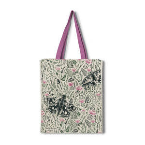 Thistles and Butterflies Tote Bag - NatureTree