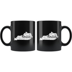 Black 11oz Mug: Kentucky Vintage