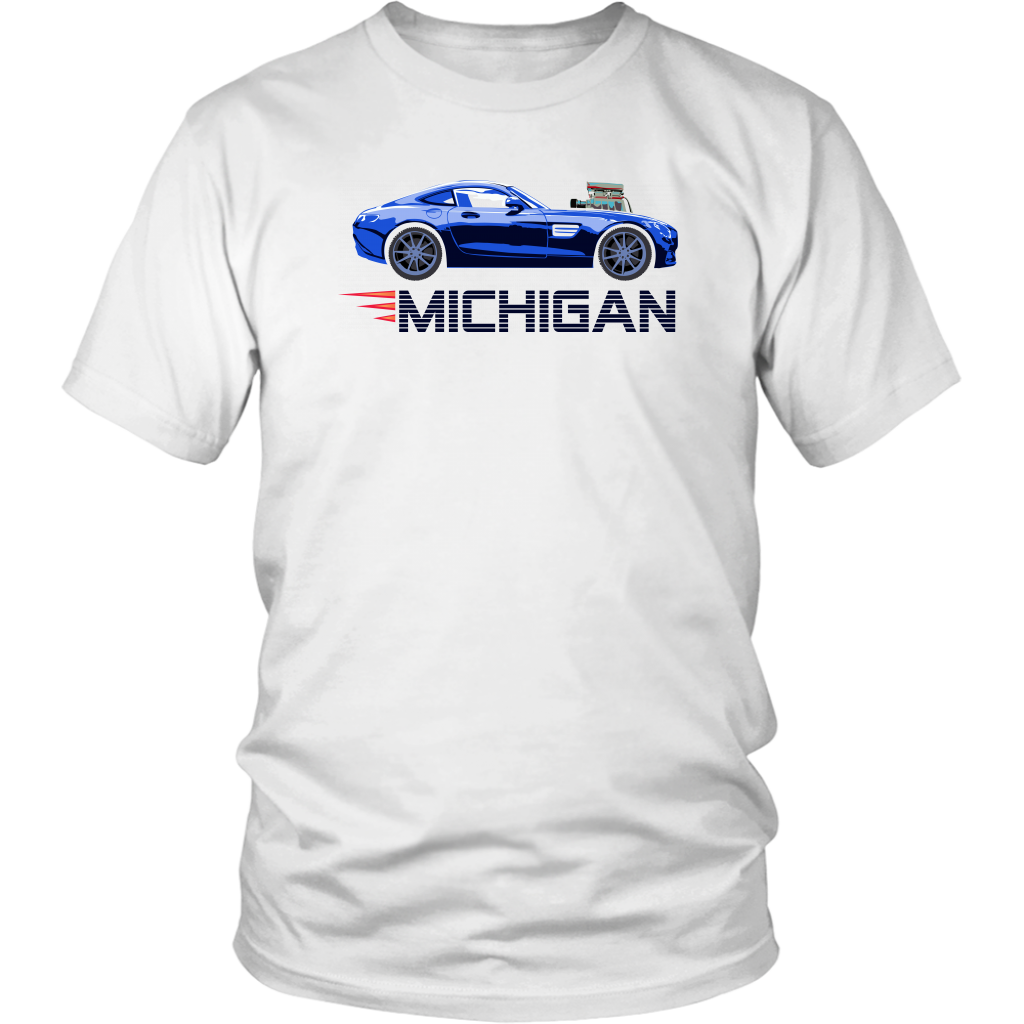District Unisex Shirt: Michigan