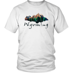 District Unisex Shirt: Wyoming