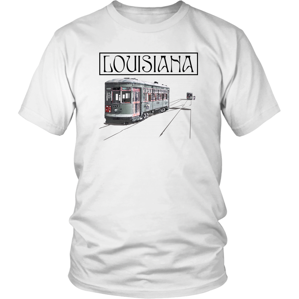 District Unisex Shirt: Louisiana
