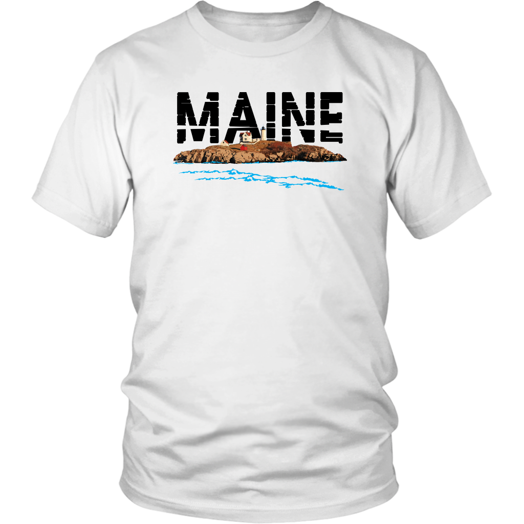 District Unisex Shirt: Maine