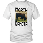 District Unisex Shirt: North Dakota