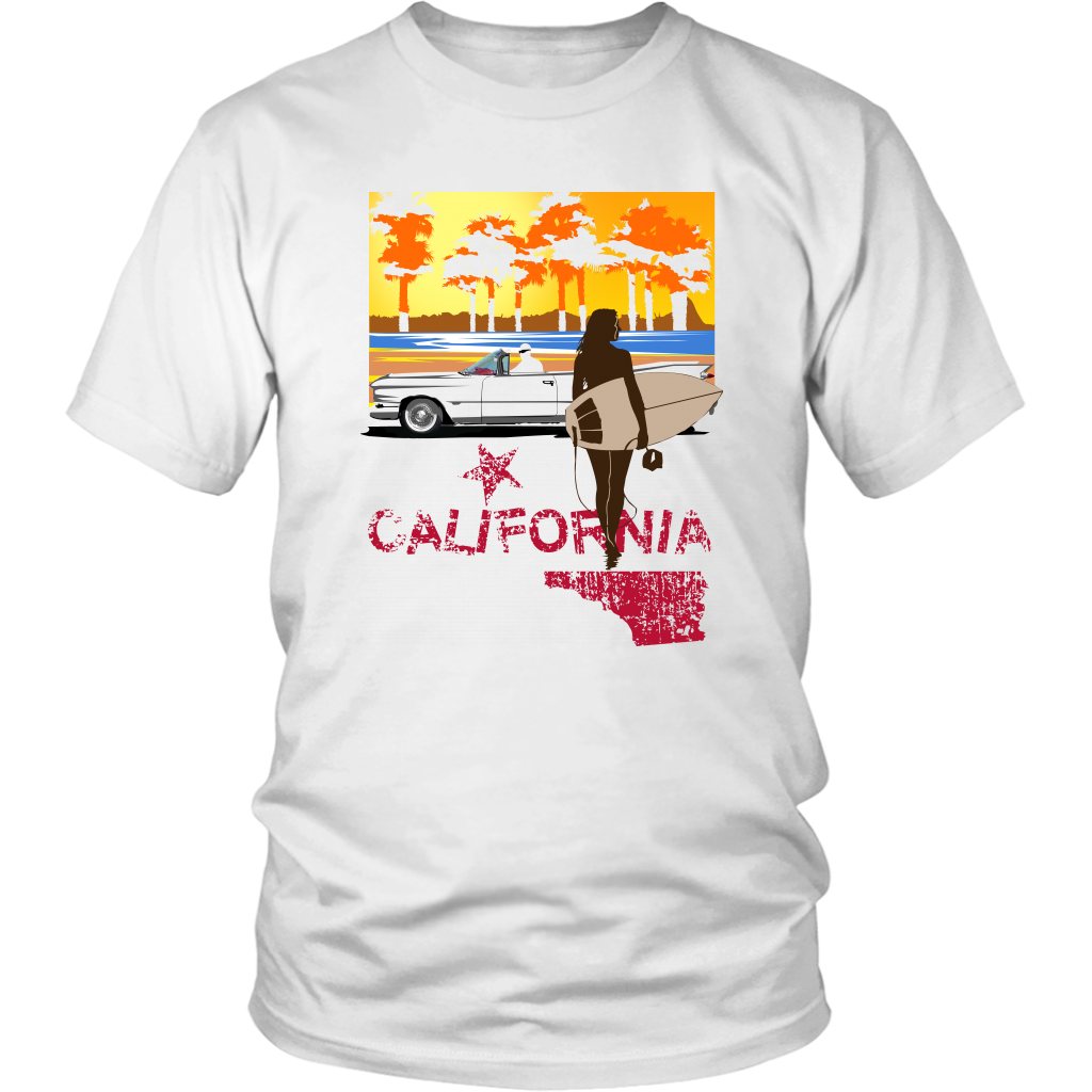 District Unisex Shirt: California