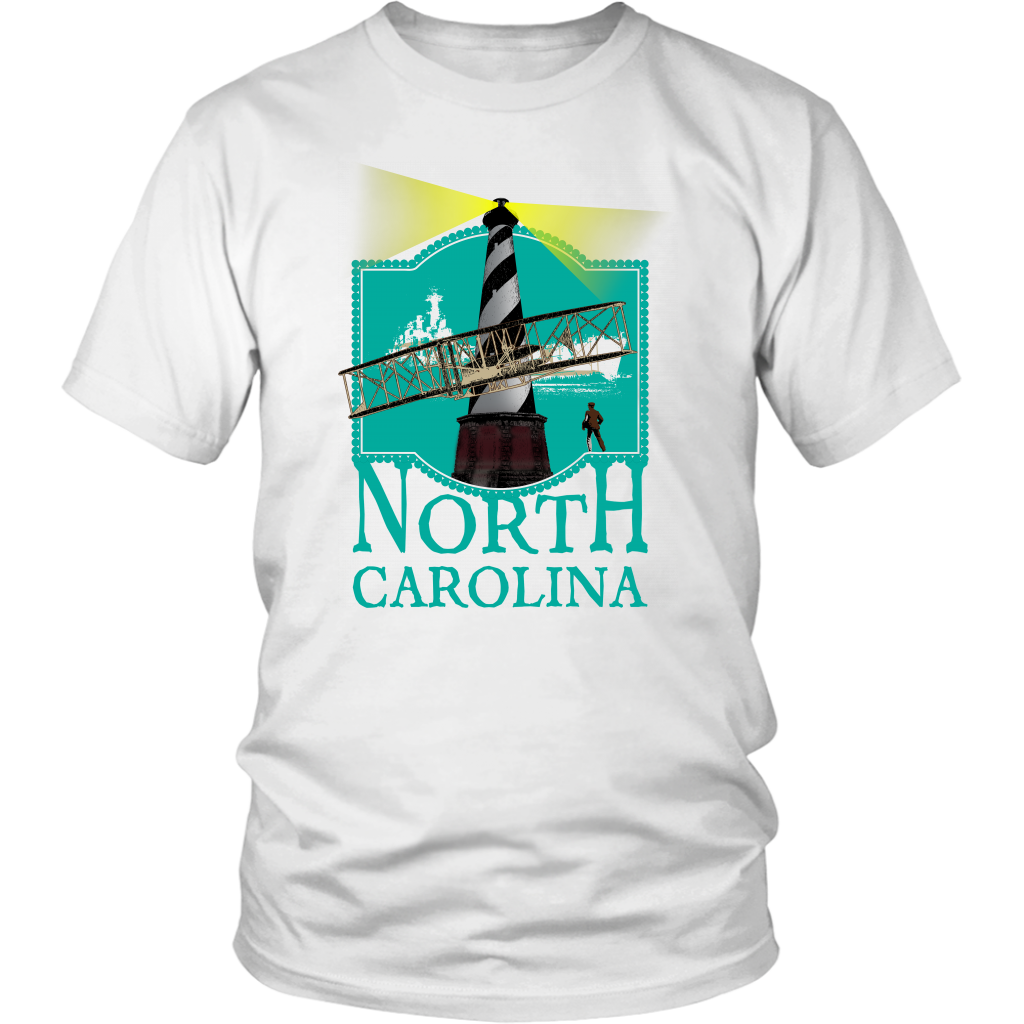 District Unisex Shirt: North Carolina