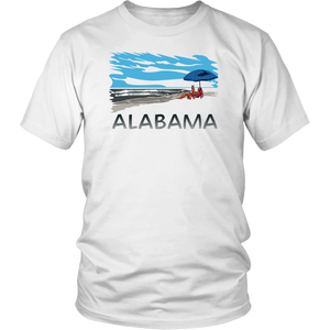 District Unisex Shirt: Alabama