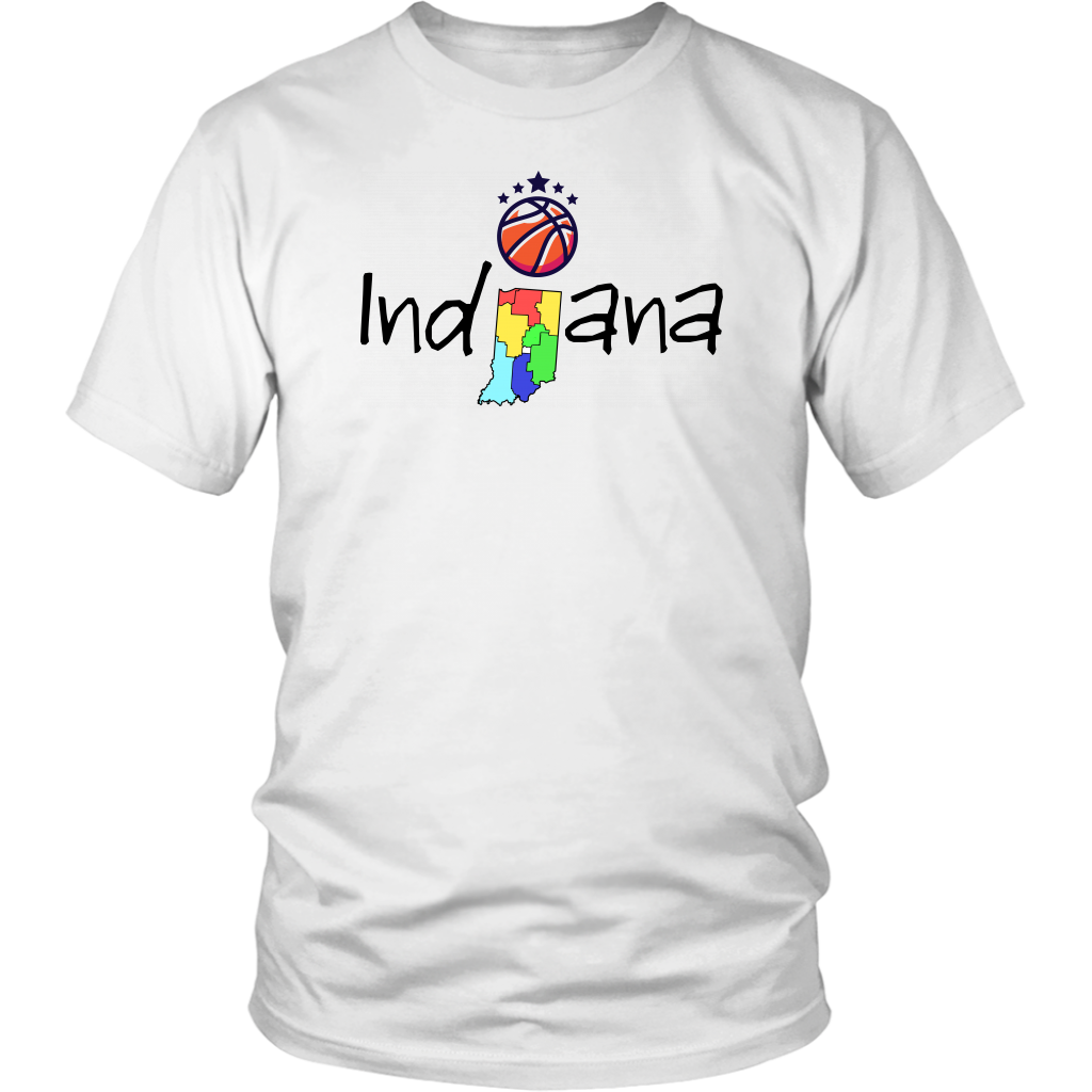 District Unisex Shirt: Indiana