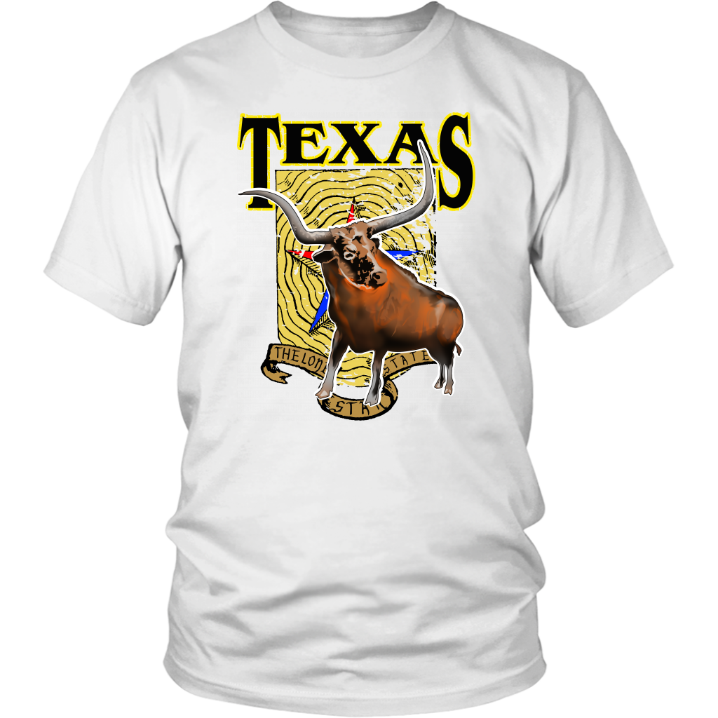 District Unisex Shirt: Texas