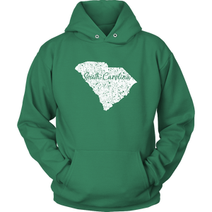Unisex Hoodie: South Carolina Vintage