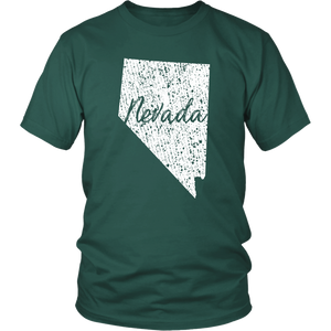 District Unisex Shirt: Nevada Vintage