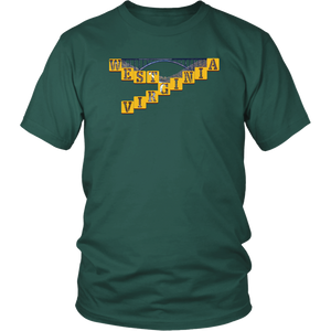 District Unisex Shirt: West Virginia