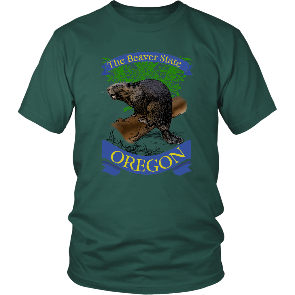 District Unisex Shirt: Oregon
