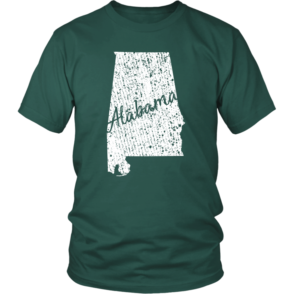 District Unisex Shirt: Alabama Vintage