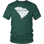 District Unisex Shirt: South Carolina Vintage