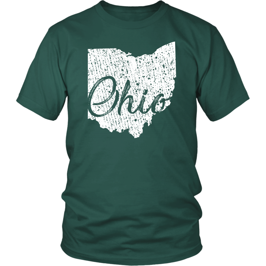 District Unisex Shirt: Ohio Vintage