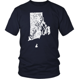 District Unisex Shirt: Rhode Island Vintage