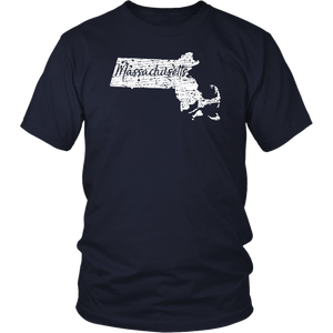 District Unisex Shirt: Massachusetts Vintage
