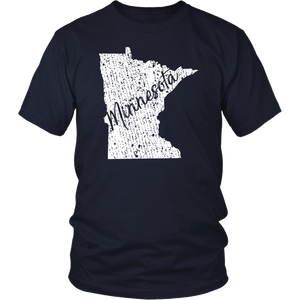 District Unisex Shirt: Minnesota Vintage