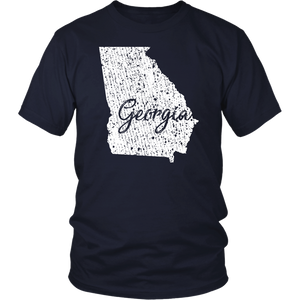 District Unisex Shirt: Georgia Vintage