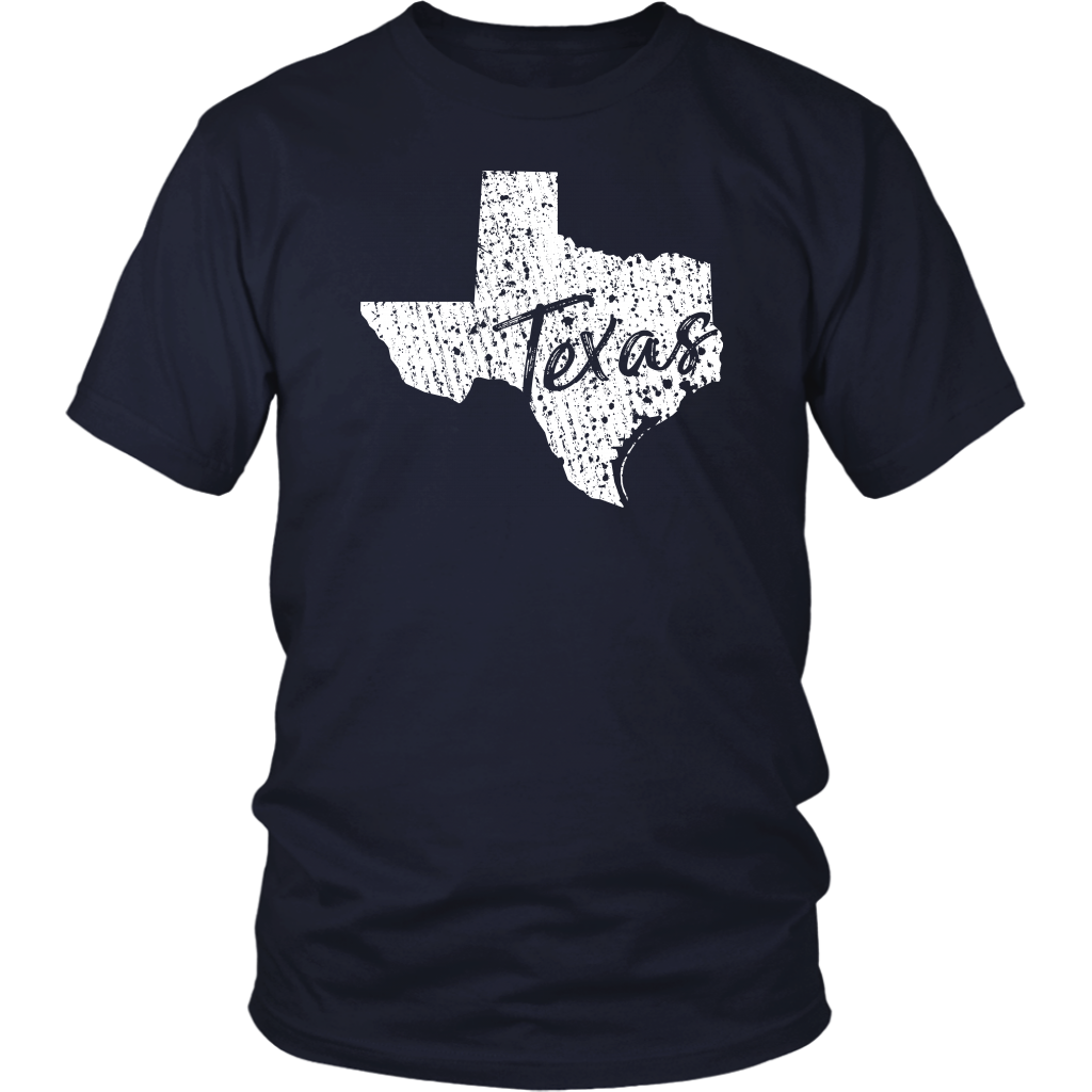 District Unisex Shirt: Texas Vintage