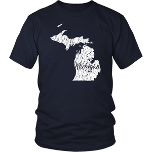 District Unisex Shirt: Michigan Vintage