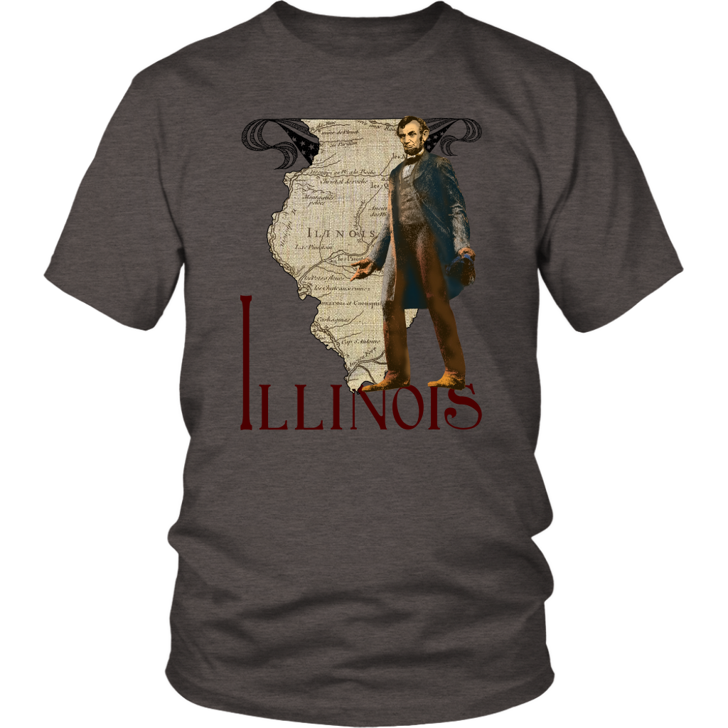 District Unisex Shirt: Illinois