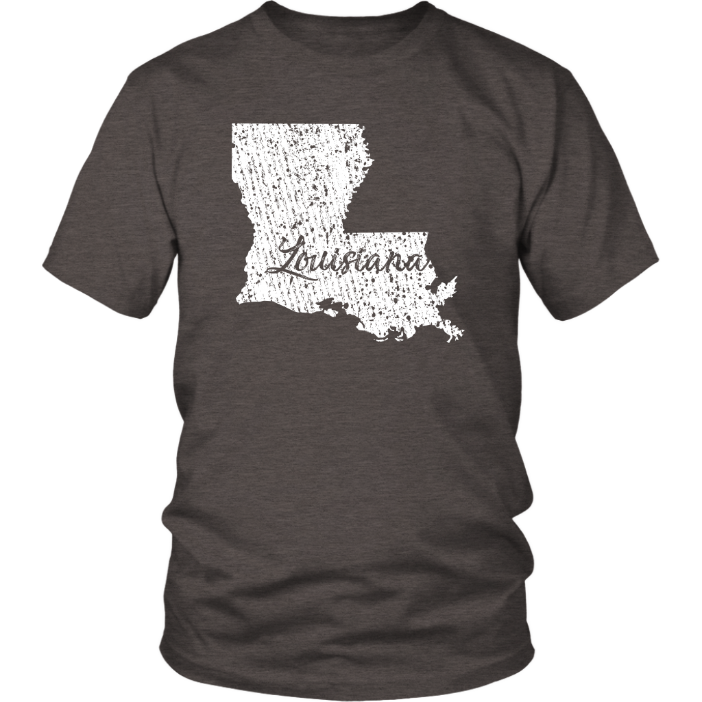 District Unisex Shirt: Louisiana Vintage