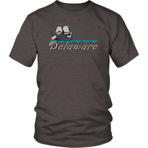 District Unisex Shirt: Delaware
