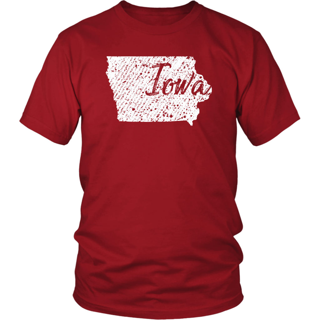 District Unisex Shirt: Iowa Vintage