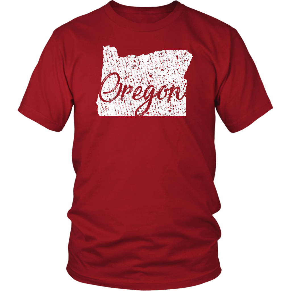 District Unisex Shirt: Oregon Vintage