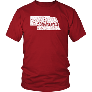 District Unisex Shirt: Nebraska Vintage