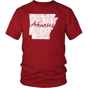 District Unisex Shirt: Arkansas Vintage