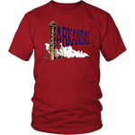 District Unisex Shirt: Arkansas