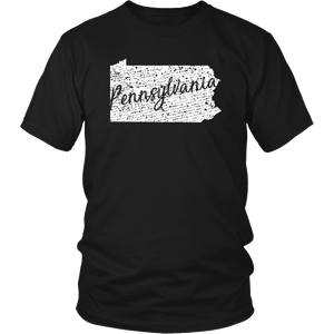District Unisex Shirt: Pennsylvania Vintage