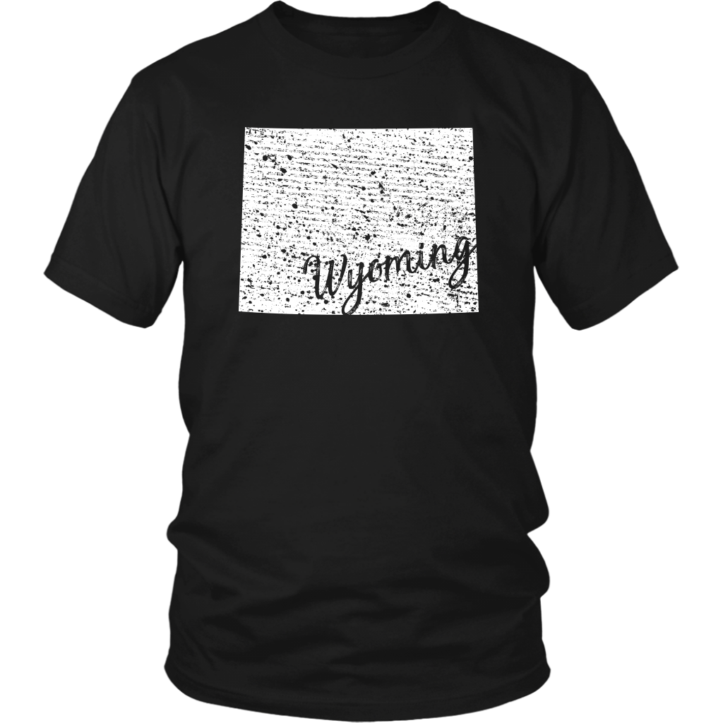District Unisex Shirt: Wyoming Vintage