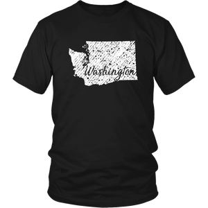 District Unisex Shirt: Washington Vintage