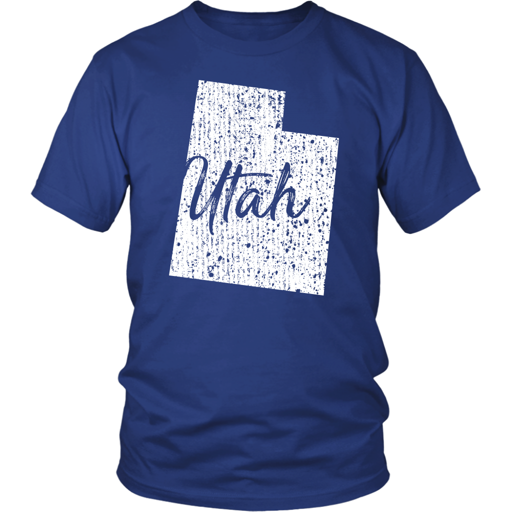 District Unisex Shirt: Utah Vintage
