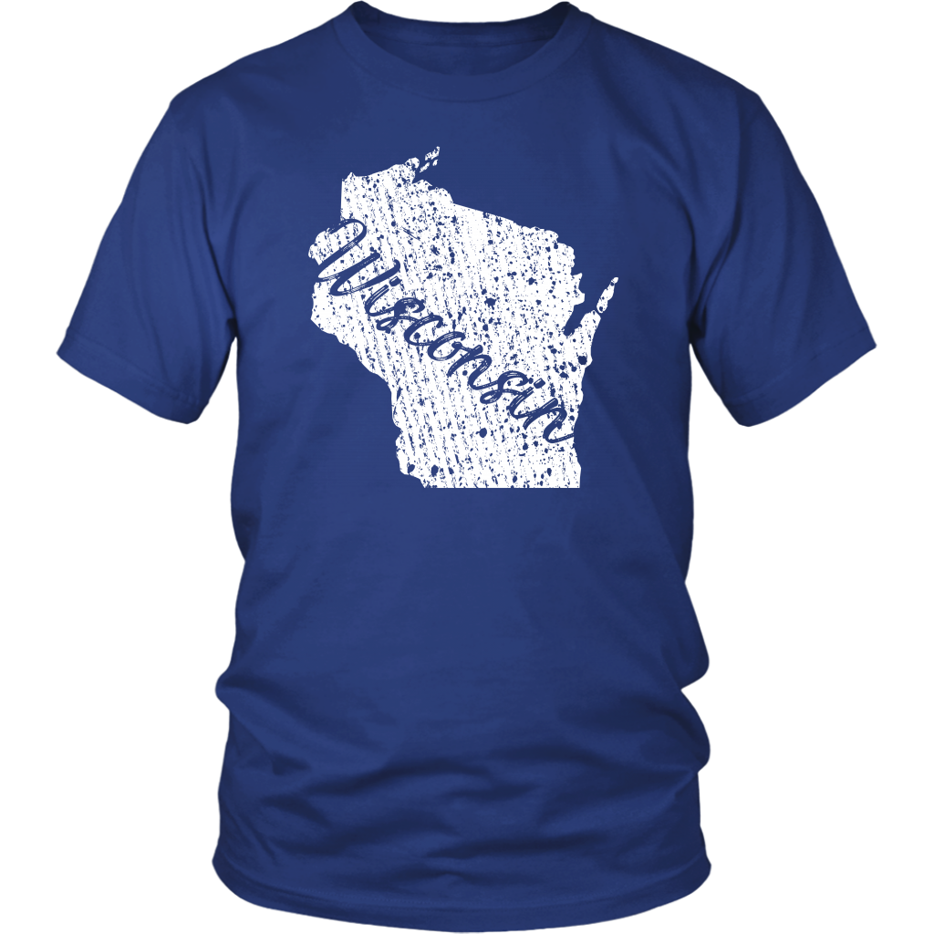 District Unisex Shirt: Wisconsin Vintage