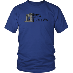 District Unisex Shirt: New Hampshire
