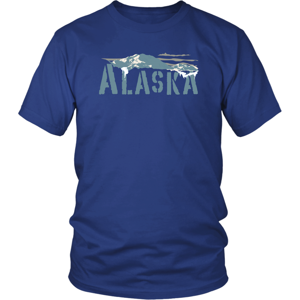 District Unisex Shirt: Alaska