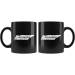 Black 11oz Mug: Tennessee Vintage