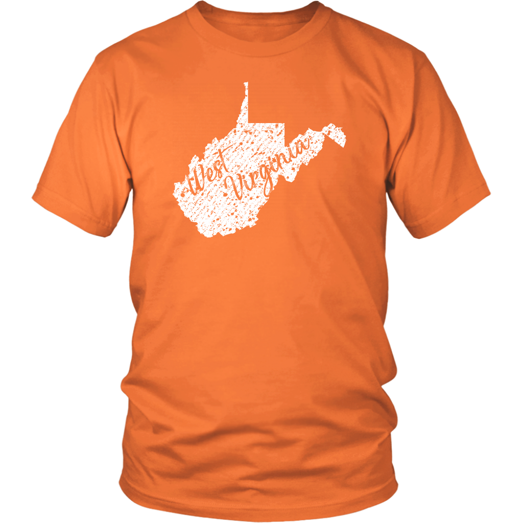District Unisex Shirt: West Virginia Vintage