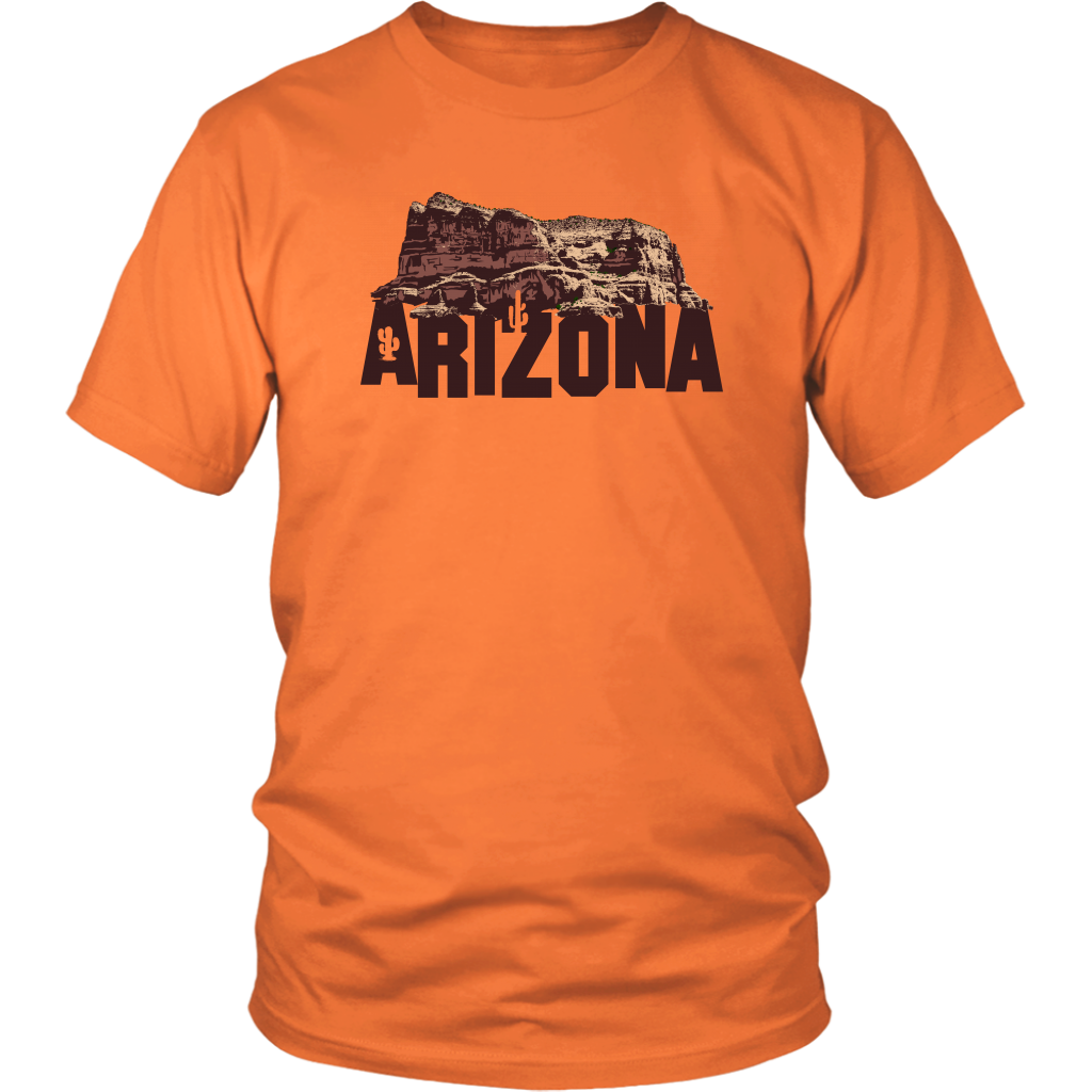 District Unisex Shirt: Arizona