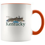 Accent Mug: Kentucky