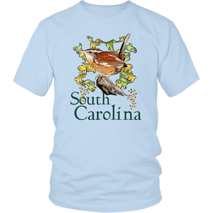 District Unisex Shirt: South Carolina